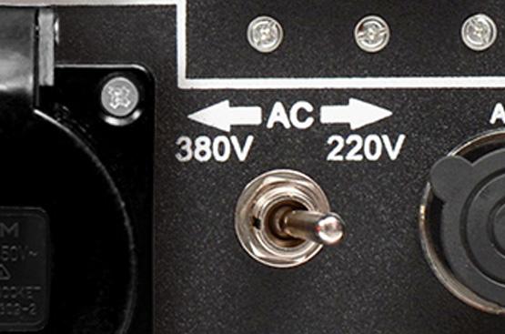 Дизельный генератор DAEWOO DDAE 9000DXE-3 (двухрежимный 380/220В)